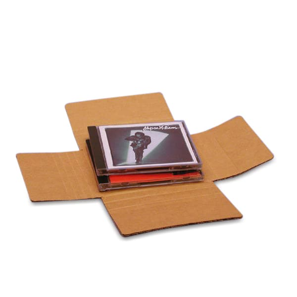 One To Four Dvd Cd Mailer