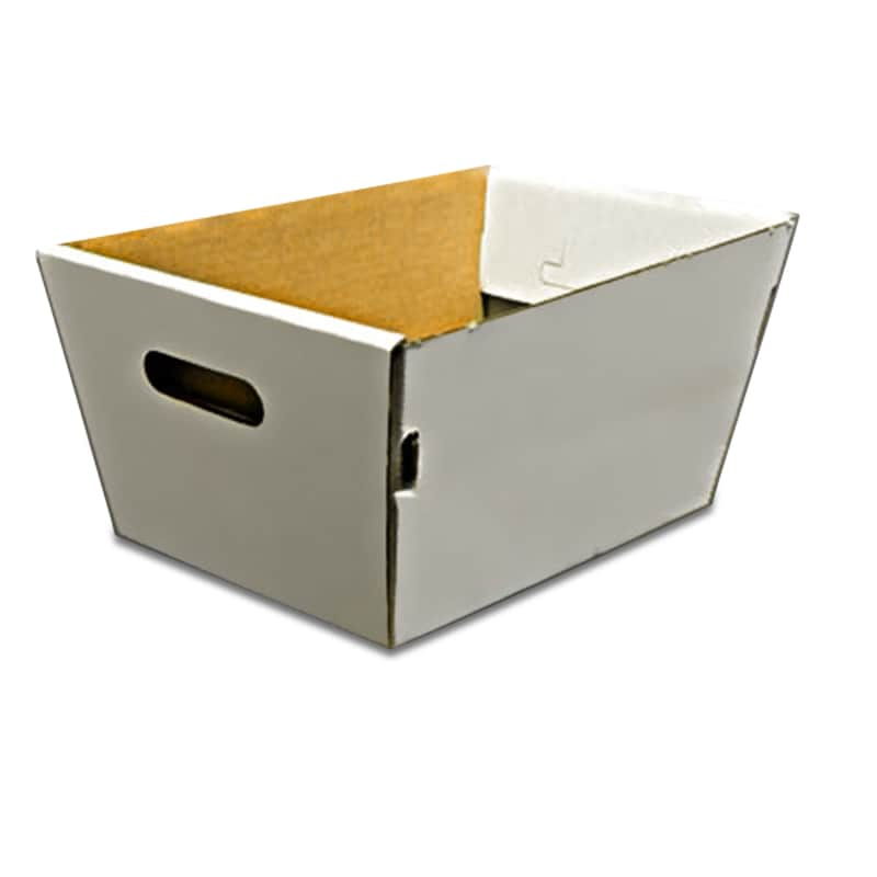 Tapered Corrugated Tote Tray