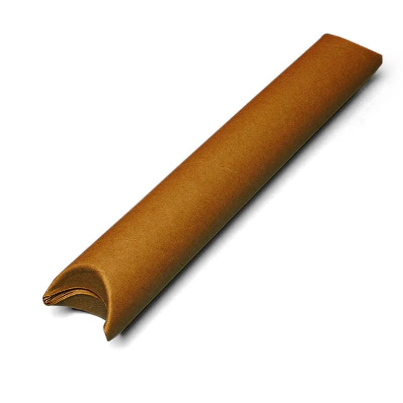 Snap Seal Brown Mailing Tubes