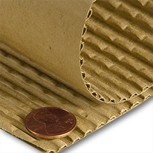 Corrugated Cardboard Sheets: Large, Wholesale Sheets | Paper