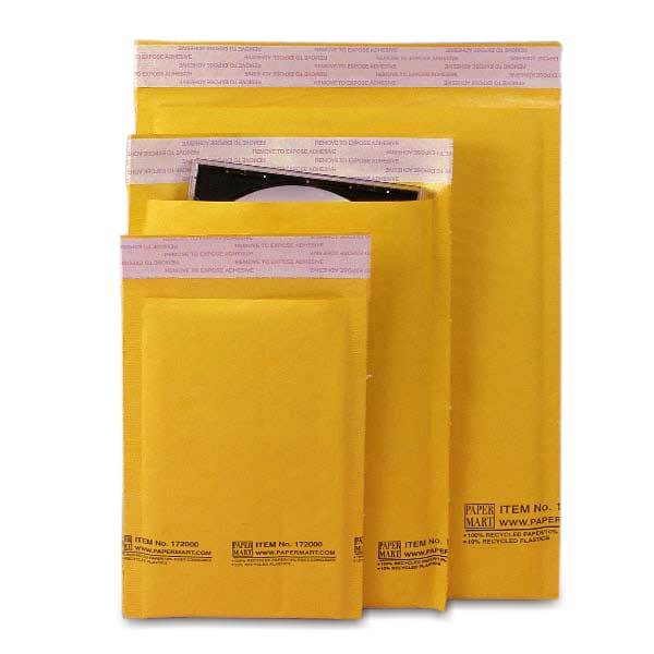 Paper Mart Brand Air Bubble Mailers