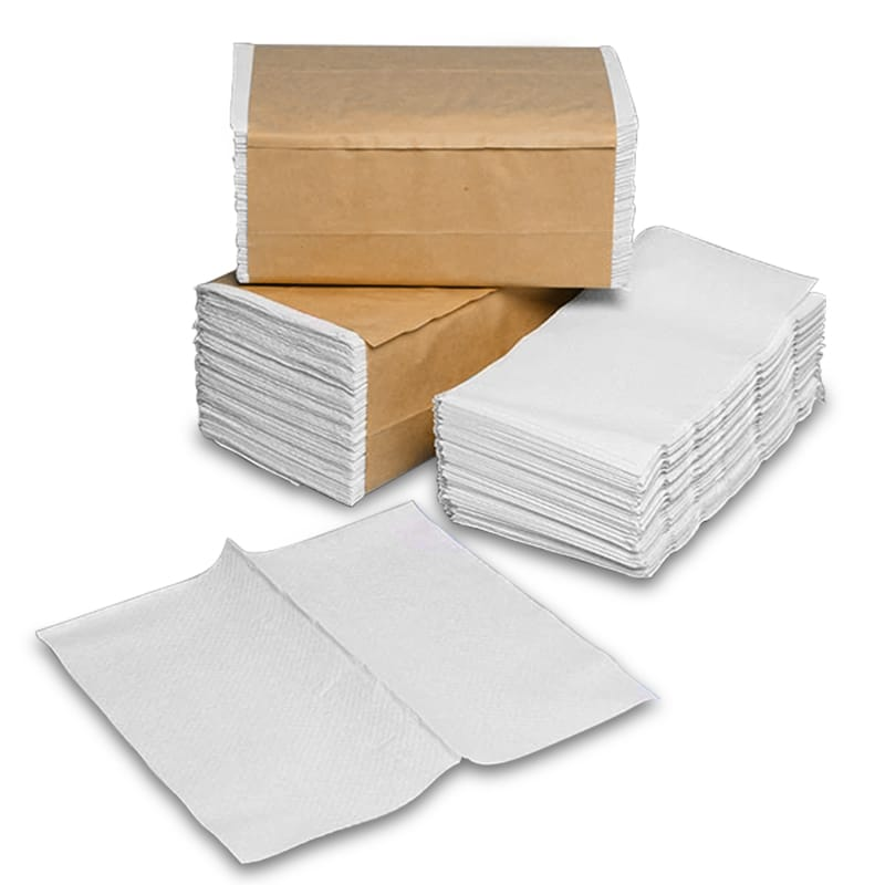 White Single Fold Towels<img Src=/Images/Item/Jpg_Janitorial/Sfold_Small.Gif Alt=single&#32fold>