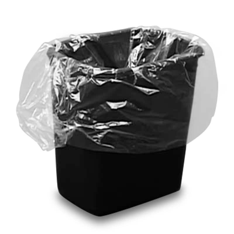 Clear Thin Trash Can Liners