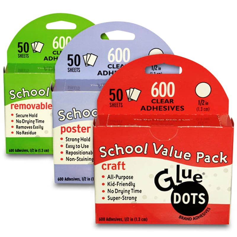 Glue Dot® Value Pack Sheets
