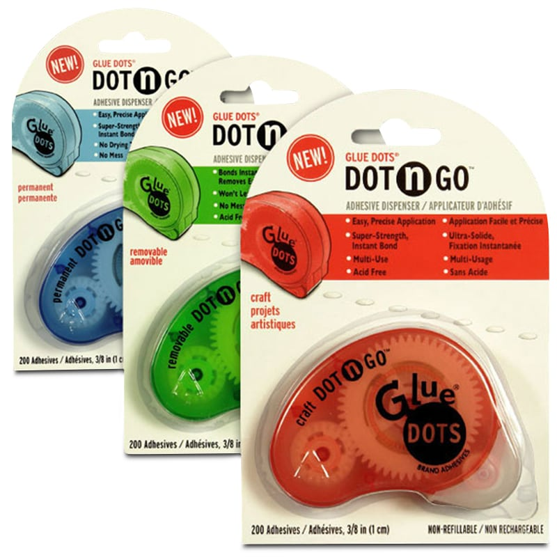 Glue Dots® Carded Dispenser