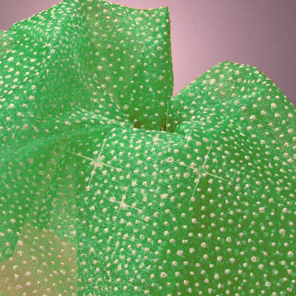 Snow Flaked Organza Fabric