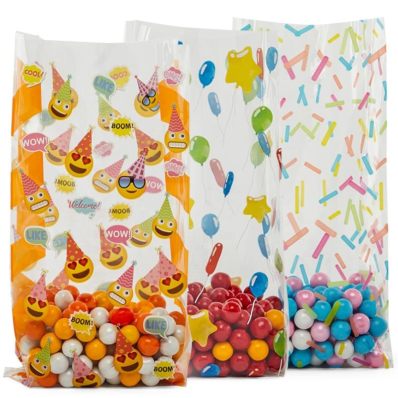 Birthday Patterned Cello Bags
