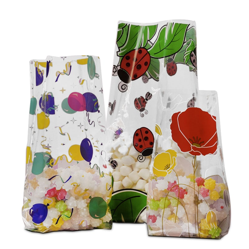 Printed Pattern Cello Bags