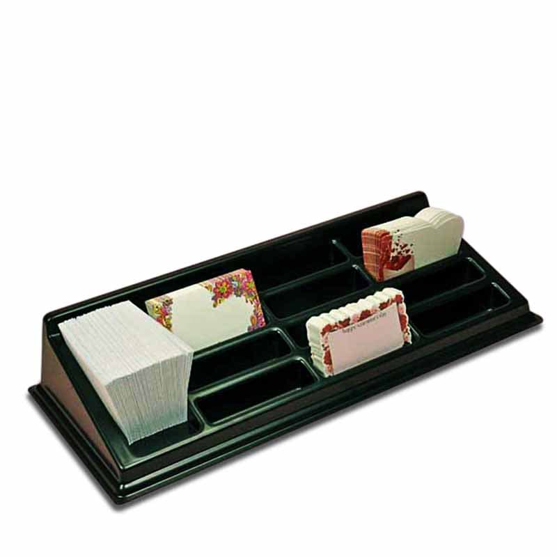 Traditional Plastic Enclosure Card Rack