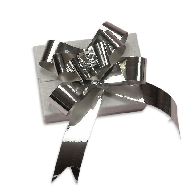 "2""& 3""& 4"" Metallic Finish Butterfly Pull Bows"