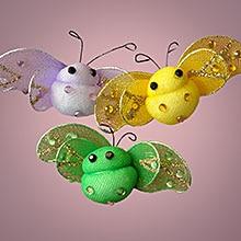 Purple Sweetie Bee Decor