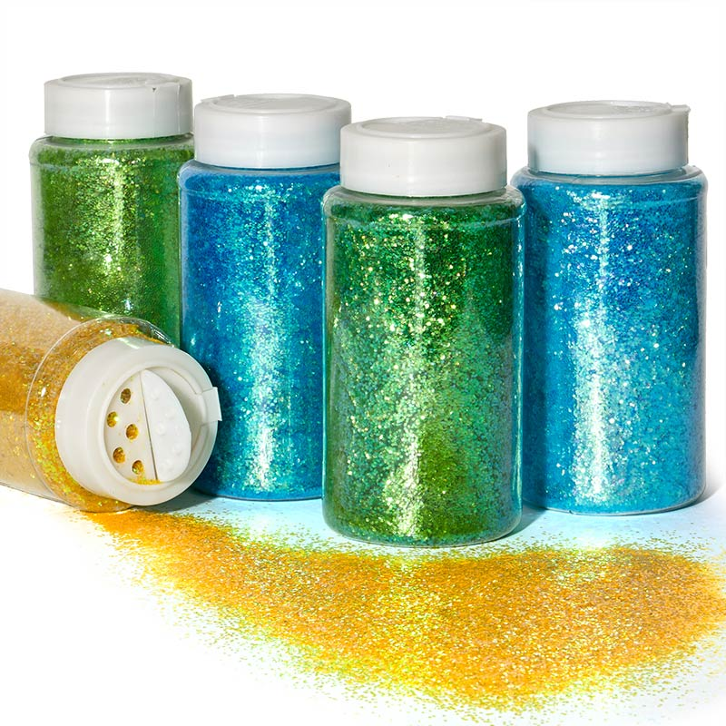 Medium Grain Iridescent Glitter