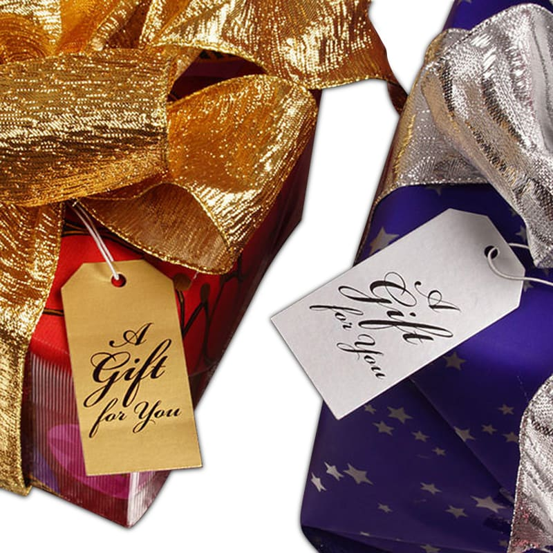 A Gift For You Strung Gift Tags