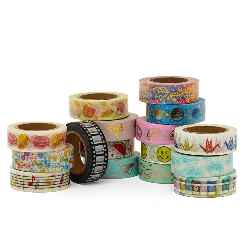 Objects Pattern Washi Tape