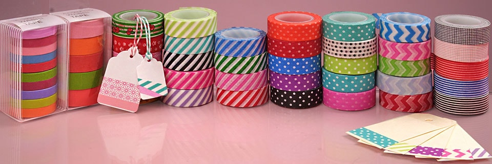 Washi tape for Tape works decorative tape