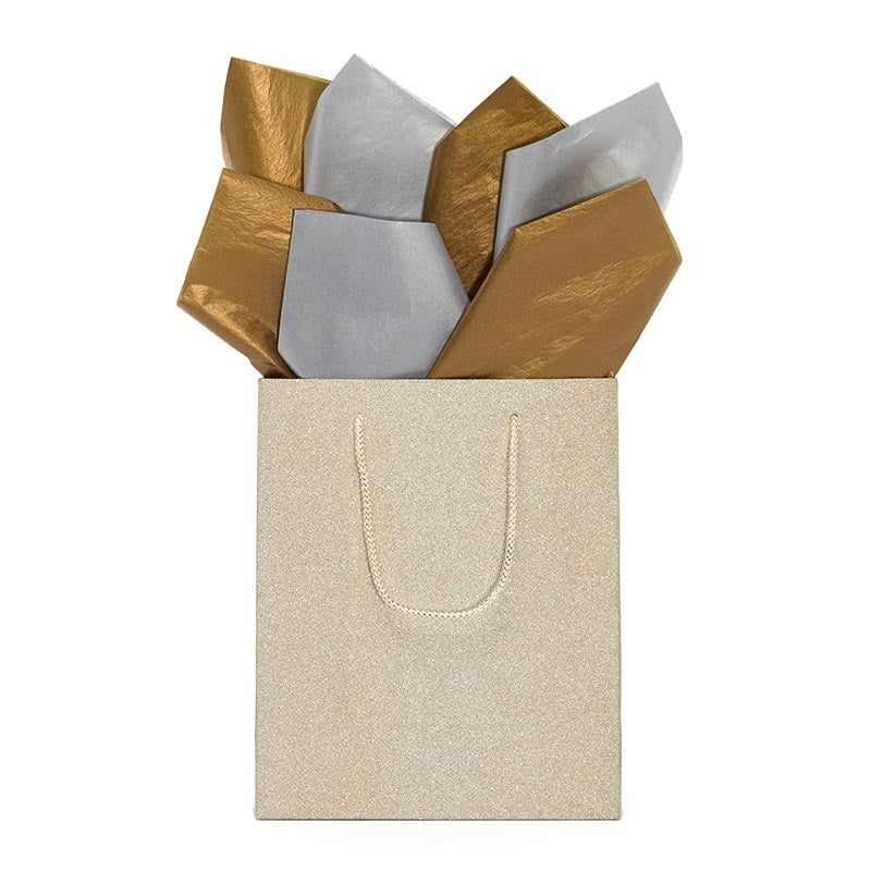 Double Faced Metallic Tissue Paper