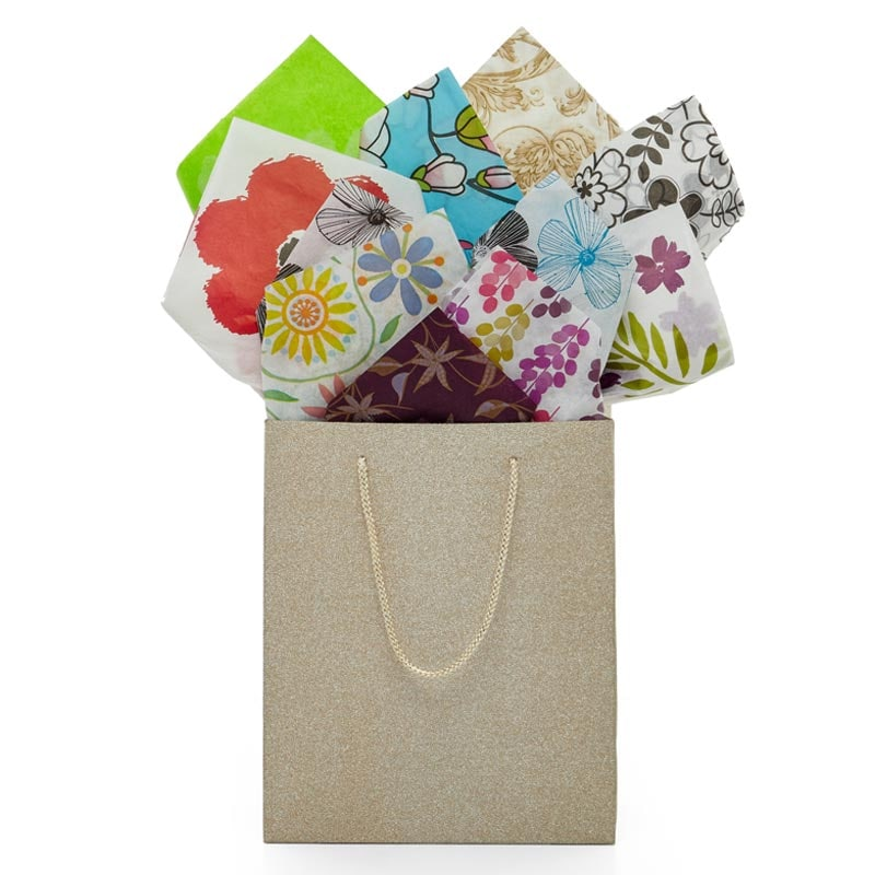 Floral Pattern Tissue Paper