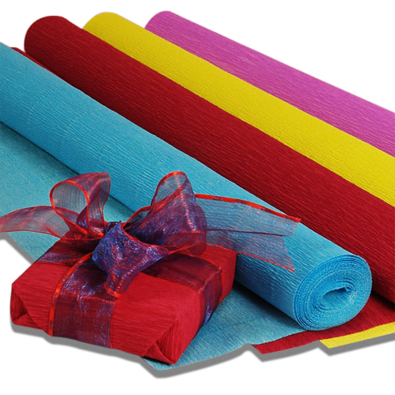 Premium Colored Crepe Paper