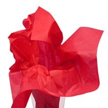 Premium Colored Tissue Paper - Scarlet Red