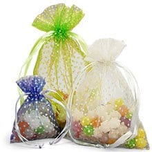 Organza Bags Whole Mesh Gift With Drawstrings